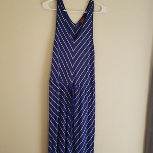 *5 for $18* Blue and white striped maxi